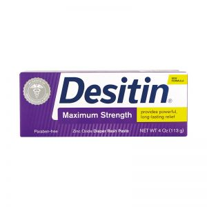 Johnson's Desitin Diaper Rash Paste 115G Maximum Strength