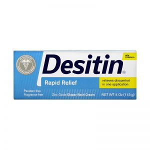 Johnson's Desitin Diaper Rash Cream 113G Rapid Relief