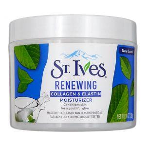 St. Ives Facial Moisturizer 10oz Collagen Elastin