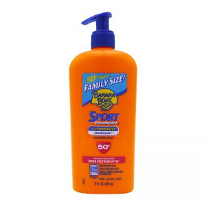 Banana Boat Sport Sunscreen Lotion SPF50+ UVA/UVB 354ml