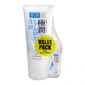 Hada-Labo Hydrating Face Wash 2x100g + Lotion 30ml