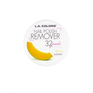 L.A.COLORS Nail Polish Remover 32 Pads Melon Scented