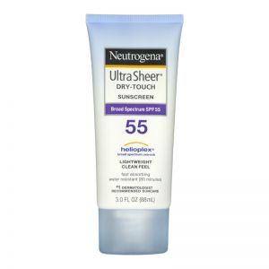 Neutrogena Ultra Sheer Sunblock SPF 55 88ml