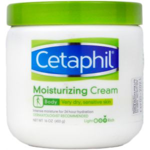 Cetaphil Moisturizing Cream Very Dry, Sensitive Skin 16oz
