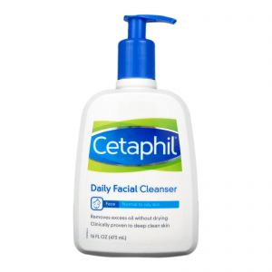 Cetaphil Daily Facial Cleanser Normal to Oily Skin 16oz