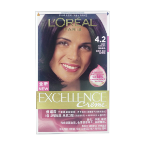 L'Oreal Excellence Crème 4.2 Deep Auburn