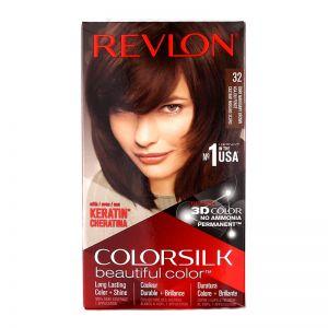 Revlon ColorSilk 3RB Dark Mohogany Brown 32
