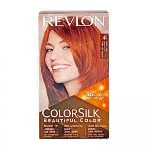 Revlon ColorSilk 45 Bright Auburn