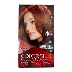 Revlon ColorSilk 5RB Light Reddish Brown 55