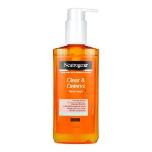 Neutrogena Clear & Defend Facial Wash 200ml For Spot-Prone Skin