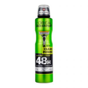 L'Oreal Deodorant Spray Men Expert Clean Power 250ml