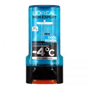 L'Oreal Men Expert Cool Power Shower 300ml for Body Face Hair