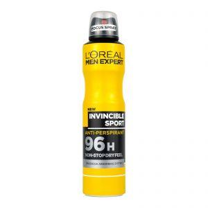 L'Oreal Deodorant Spray Men Expert Invincible Sport 250ml