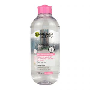 Garnier Micellar Cleansing Water 400ml (Normal to Sensitive Skin)