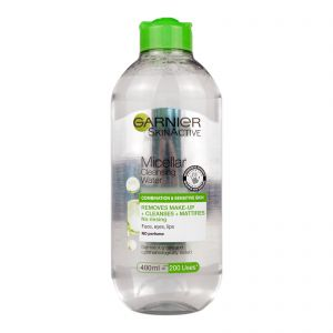 Garnier Micellar Cleansing Water 400ml (Combination & Sensitive Skin)