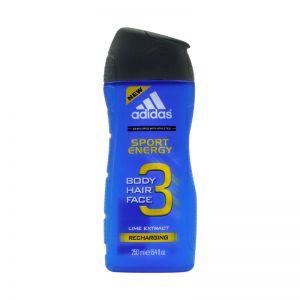 Adidas Body Hair Face 3in1 Sport Energy 250ml