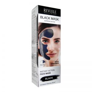Revuele Black Mask Instant Action Face Mask 80ml