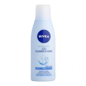 Nivea 2in1 Cleanser & Toner 200ml For Normal/Combination Skin