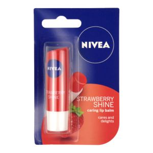 Nivea Fruity Shine Strawberry Lip Balm 4.8g