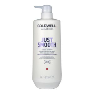 Goldwell Dualsenses Just Smooth Taming Shampoo 1L Color Protection