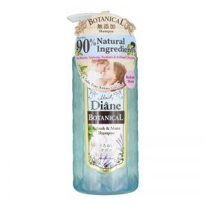 Moist Diane Shampoo 480ml Botanical Refresh & Moist