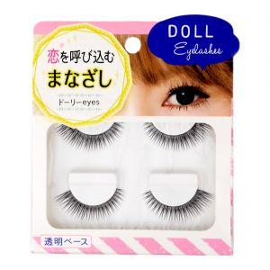 100Yen Natural False Eyelash Doll