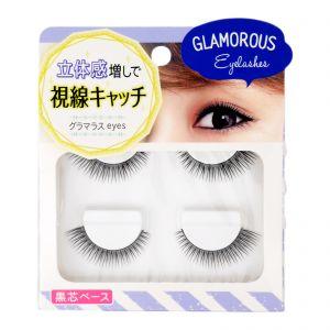 100Yen Natural False Eyelash Glamorous