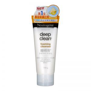 Neutrogena Deep Clean Foam Cleanser 100g