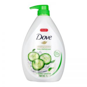 Dove Bodywash 1L Go Fresh Cucumber + Green Tea