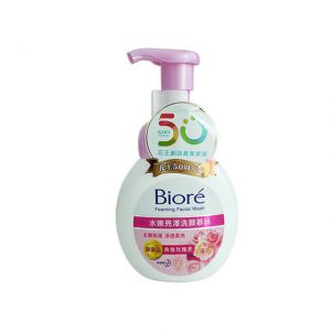 Biore Foaming Facial Wash 160ml Moisture