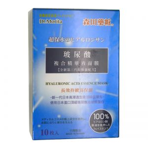 Dr.Morita Hyaluronic Acid Essence Face Mask 10s
