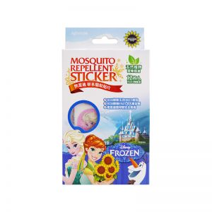 Against24 Mosquito Repellent Sticker 12S Disney Frozen