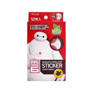 Against24 Mosquito Repellent Sticker 12S Big Hero 6
