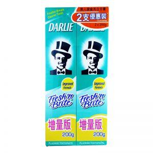 Darlie Fluoride Toothpaste Fresh & Brite (200gx2)