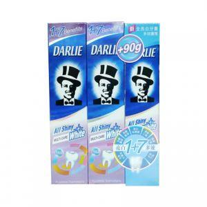 Darlie All Shiny White Toothpaste Multi-Care (140gx2+90G)