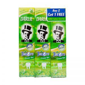 Darlie Teacare Toothpaste - Green Tea 160gx3