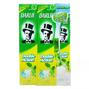 Darlie Fluoride Toothpaste Double Action 250gx2+100g