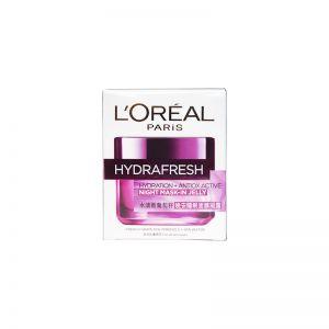 L'Oreal Paris HydraFresh Night Mask-in Jelly 50ml