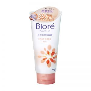 Biore Facial Foam 100g Moist Rich