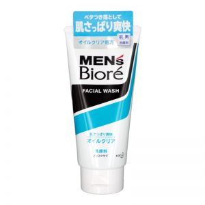 Biore Men Deep Oil Clear Face Wash 130g