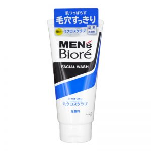 Biore Men Micro Scrub Face Wash 130g