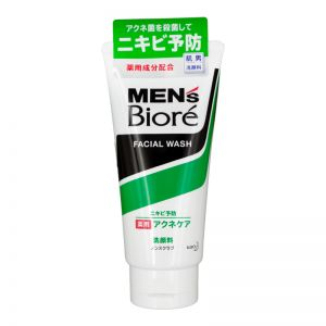 Biore Men Medicated Acne Care Face Wash 130g