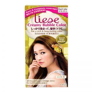 Liese Creamy Bubble Hair Colour Biscuit Beige