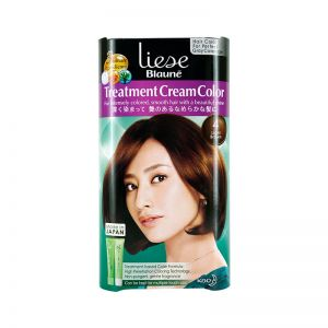 Liese Blaune Treatment Cream Color (No.4 Light Brown)