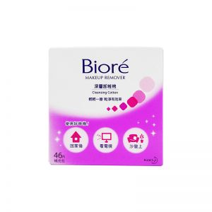 Biore Makeup Remover Cleansing Cotton 46s Refill