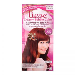 Liese Creamy Bubble Hair Color Cassis Berry