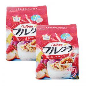 Calbee Natural Fruit Granola Cereal 800g (x2 packs)