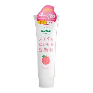 Kracie Naive Peach Makeup Removal Facial Wash 200ml