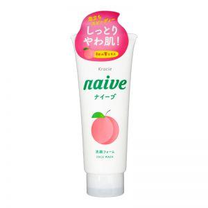 Kracie Naive Peach Facial Foam 130g