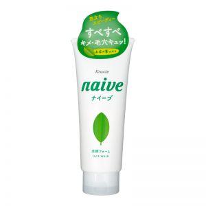 Kracie Naive Green Tea Facial Foam 130g